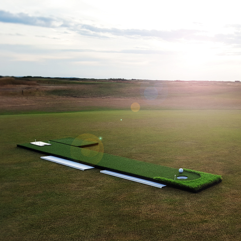 The ultimate golf putting training package