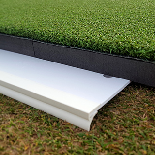 Fit easily under the Pro-Stroke putting green
